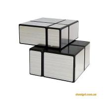 Smart Cube Mirror Silver 2x2x2 | Зеркальный Кубик 2х2