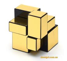 Smart Cube Mirror Golden 2x2x2 | Зеркальный Кубик 2х2
