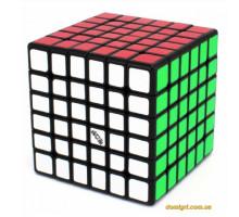 QiYi Wuhua 6x6 V2 black |Кубик 6х6 чорний