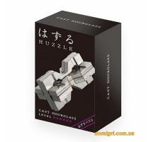 6* Песочные часы (Huzzle Hourglass) | Головоломка из металла