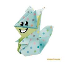 Белки | Squirrel Fridolin набор для оригами