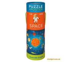 Космос /Crocodile Creek Poster & Puzzle (200 деталей)