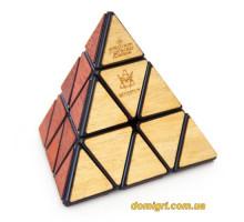 Meffert's Pyraminx Deluxe |Дерев'яна пірамідка преміум