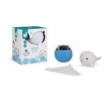 Іграшка для купання Janod Малювання. Нарвал J04726