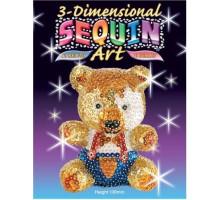 Набор для творчества Sequin Art 3D Teddy SA0502