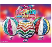 Набор для творчества Sequin Art 3D TRIO Mirror Balls SA1307