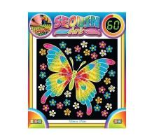 Набор для творчества Sequin Art 60 Butterfly SA1325