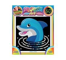 Набор для творчества Sequin Art 60 Dolphin SA1327