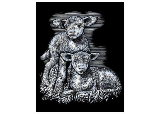 Набор для творчества Sequin Art ARTFOIL SILVER Lambs SA0538