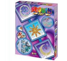 Набор для творчества Sequin Art SEASONS Cosmic ,Sun,Moon and Stars SA1511