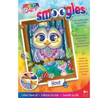 Набір для творчості Sequin Art SMOOGLES Сова SA1812