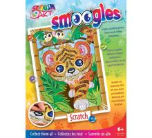Набір для творчості Sequin Art SMOOGLES Тигр SA1815