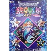 Набор для творчества Sequin Art STARDUST Mermaid SA1013