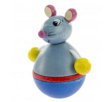 Nic Іграшка-неваляшка дерев'яна Мишка NIC61552