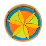 Конструктор nic деревянный Цветок NIC523062