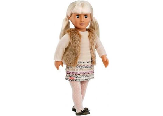 Кукла Our Generation  Ариа в пуховом жилете 46 см BD31079Z