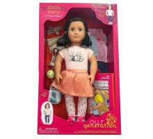 Кукла Our Generation DELUXE Эверли с книгой 46 см BD31165AZ