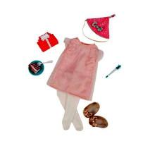 Набор одежды для кукол Our Generation  Deluxe  для День рождения с аксесуарами BD30229Z