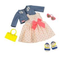 Набор одежды для кукол Our Generation Deluxe  Платье с сердечками и жакетом BD30246Z