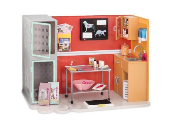 Игровой набор Our Generation Ветеринарная клиника BD37965Z