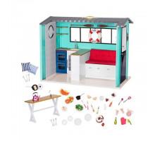 Игровой набор Our Generation Пляжный дом с аксессуарами BD37860Z