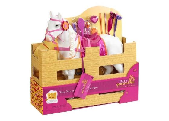 Игровая фигура Our Generation Лошадь Принцесса с аксессуарами 50 см BD38003Z
