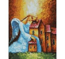 Картина по номерам Ангел-хранитель 40*50 см