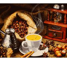 Картина по номерам Ароматный кофе 40*50 см