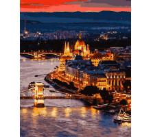 Картина за номерами Чарівний Будапешт 50*60 см