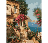 Картина по номерам Отдых на Средиземноморье 40*50 см