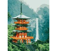 Картина по номерам Пагода 40*50 см