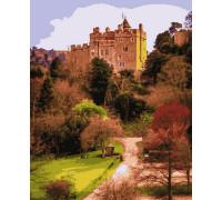 Картина по номерам Старинный замок 50*60 см