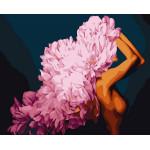 Картина по номерам Цветущая красота 40*50 см