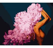 Картина по номерам Цветущая красота 50*60 см