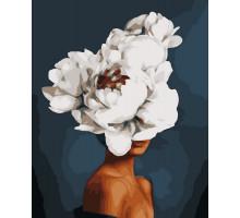 Картина по номерам Элегантная цветок 50*60 см