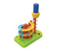 Конструктор Горка-спираль с инструментами Edu-Toys