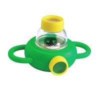 Набор натуралиста Контейнер для насекомых с лупами 4x 6x Edu-Toys